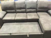 BNIB Leather sectional sofa bed Coquitlam, V3J 4A1