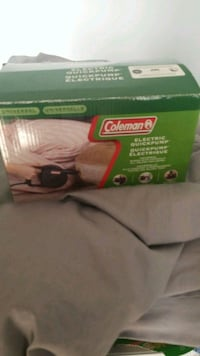 Coleman's electric air pump today only Toronto, M6L 1V7