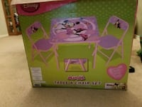 Mini Mouse table & chairs Cantonment, 32533
