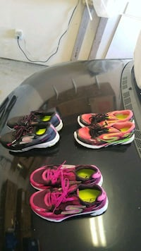 3 pairs of sketchers runners Vancouver