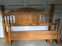 Queen/full headboard and footboard