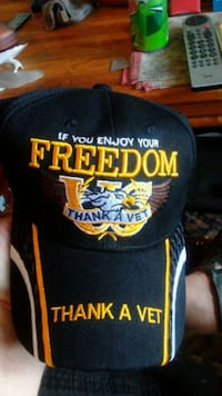Brand new vets ball cap! 1 size fits all.