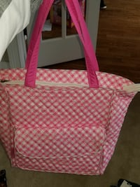 Brand New Pink and White Emma and Chloe Diaper bag Loganville, 30052