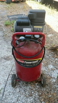 Air compressor 90 psi works but motor starting to