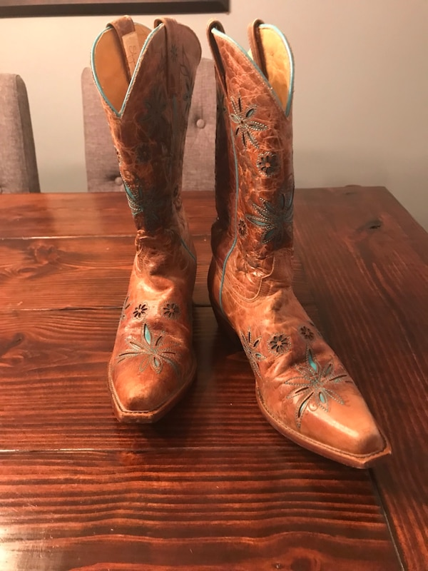 uk availability 2252a 24ac5 Size 10 Women's Cowboy Boots, Worn Once