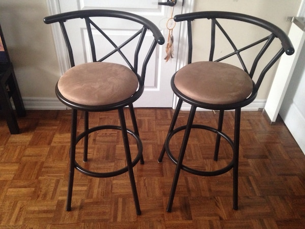 Two bar chairs