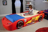Car toddler bed. Frame only. Fits any crib mattress Toronto, M9C 5C5