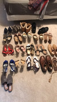 women's assorted pairs of shoes Harrisburg, 28075