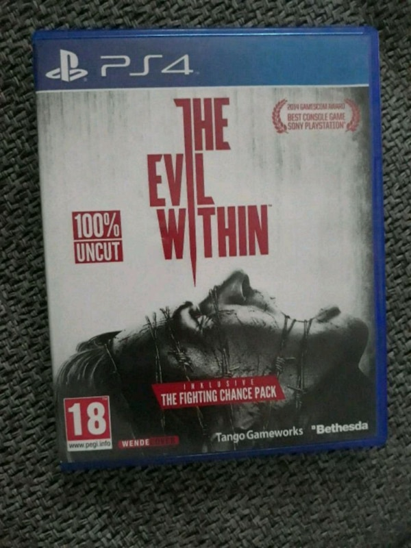 THE EVIL WITHIN (PS4 Spiel)