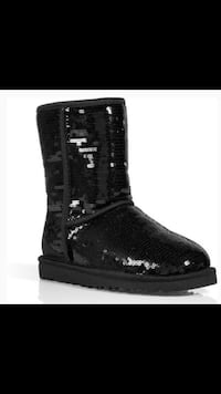Women's size 8 black sequin Uggs. Pickup in North Chas off of Otranto.