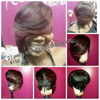 27 Piece pixie Cut with razorcutbang