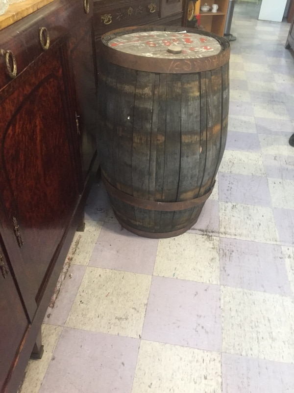 Used Antique Wine Barrel Store Closing Park Estate Antiques La Mesa