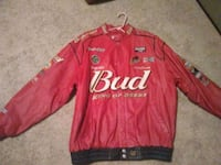 Vintage chase leather budweiser jacket Mechanicsville, 20659