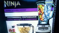 Ninja supra kitchen system  Winnipeg, R3T 1X9