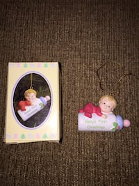 Tiny treasured keepsake / baby first Christmas ornament Calgary, T3E 6L9