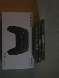 Bluetooth controller and Xbox one games  Des Moines, 50317