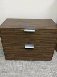 brown wooden 2-drawer chest Oklahoma City, 73106