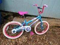 Girls blue and pink Huffy bicycle Redding, 96001