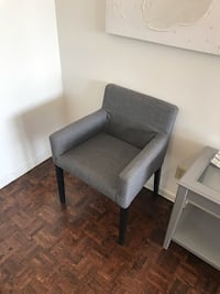 2 grey arm chairs available Toronto, M6R 2B2