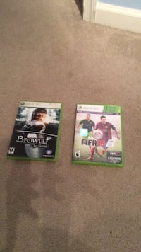 Two Xbox 360 games. Price in description Chambersburg, 17202