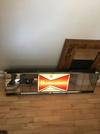Black and brown wooden tv stand Winnipeg, R3C 0X3