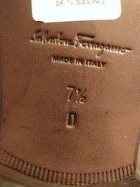 Authentic Salvatore Ferragamo Brown Loafers Washington, 20010