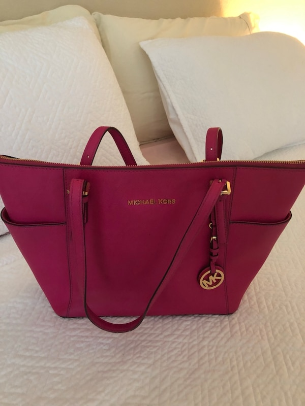 e9c7d47c6f Used Authentic Michael Kors Purse Hot Pink for sale in Irving - letgo