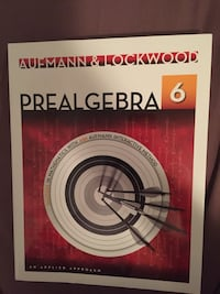 PREALGEBRA: AN APPLIED APPROACH 6 - AUFMANN & LOCKWOOD Mississauga, L4Z 0B8