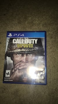Call of Duty Ghosts PS4 game case Shenandoah Junction, 25442