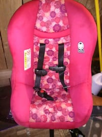 baby's pink and black floral car seat Corpus Christi