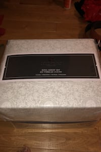 King sized sheet set 600 thread count retails $150