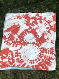Bleach dyed tapestries