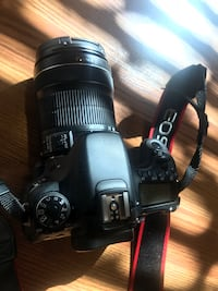black Canon DSLR camera with lens mint condition barely used 저먼타운, 20874