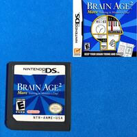 Nintendo Ds Brain Age 2 game National City, 91950