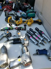 assorted color fishing reels lot Oakland, 94603