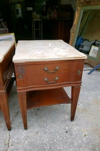 Marble top end tables $15 Each Clearwater, 33764