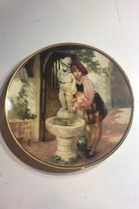 Whispered memories collector plate