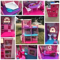 Lot of Barbie Houses, Dolls, Clothes, Furniture and Accessories West Des Moines, 50265