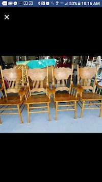 4 Beautiful country dining chairs Deltona, 32725