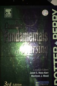 Canadian Fundamentals Nursing Textbook Potter and Perry Third Edition Vancouver, V5Z 4L7