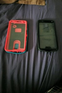 two black and red smartphone cases London, N5Z 5E9