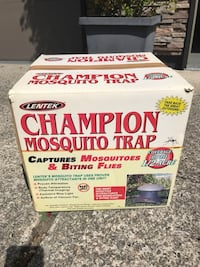 Mosquito trap.  Like new. Great for yard or camping   Coquitlam, V3E 1G9