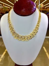 14k Gold Fancy woman Necklace  Houston, 77036