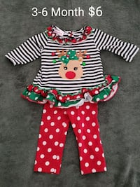 Infant Christmas Outfit