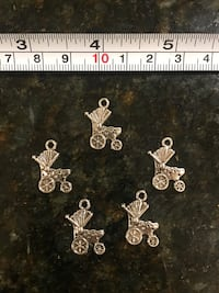 5 pcs lot DIY charms for jewelry making art crafts baby shower Lutherville Timonium, 21093
