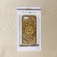 New Felony Case Phone Case Iphone 7/8 Cellphone Gold Geometric  Edmonton, T6H 0G9
