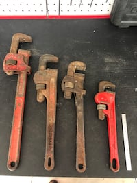 Pipe wrench's