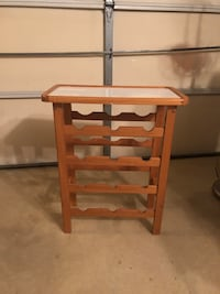 Wine Rack w/Removable Tray Springfield, 22150