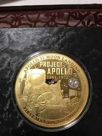 Journey to the Moon Colossal Commemorative Coin - Project Apollo Sioux Falls, 57108