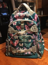 baby's multicolored floral backpack Cresson, 16630